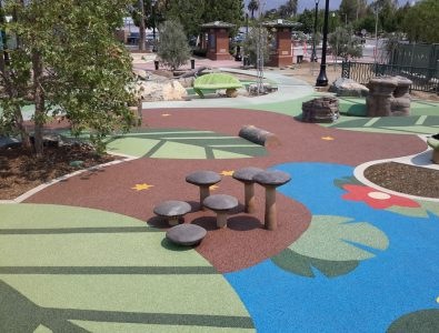 PlayBound Poured-in-Place playground surfacing.