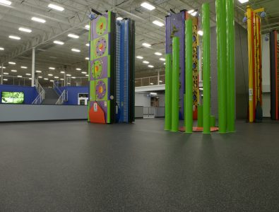 Everlast Roll flooring at Spooky Nook Sports.