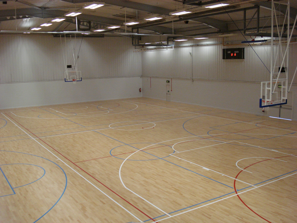 Gymnasium flooring field house flooring surface america for Basketball gym designs and layout