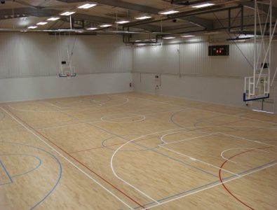 Boflex gymnasium floor.