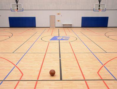 Bounce gym floor.
