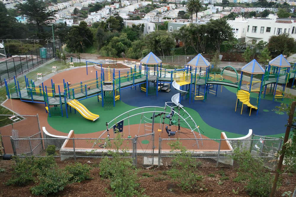 PlayBound PouredinPlace Rubber Playground Surface Surface America - Spongy outdoor flooring