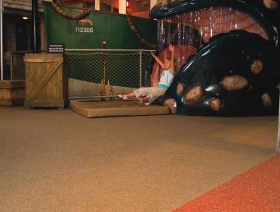 Everlast Roll flooring at indoor activity area.