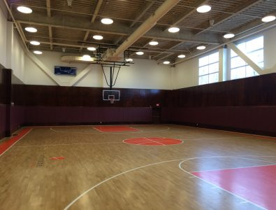 Boflex Oak gym floor at Latitude Fitness in Peabody, MA.