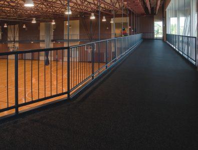 Performance on running & walking mezzanine.