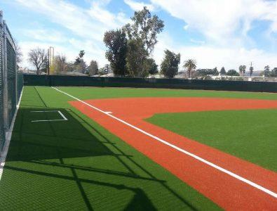 Special needs Turf baseball field.