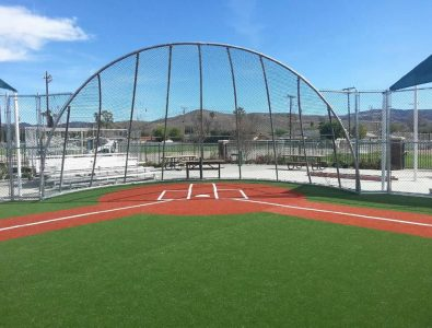 Special needs Turf baseball field.