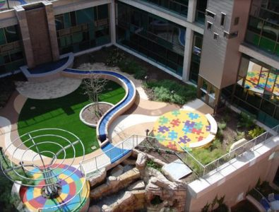 EverTop and Turf at Dell Children's Hospital.