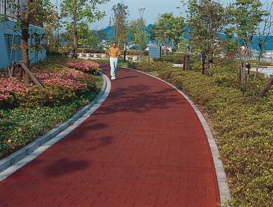 DuraPaver walking path.