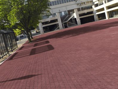 DuraPavers at outddor multi-purpose area.
