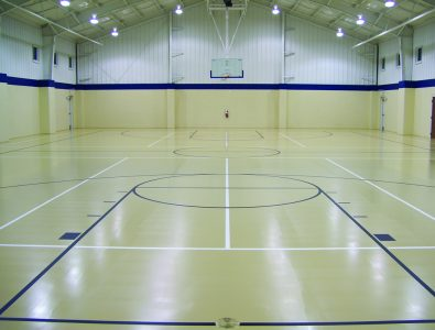 ElastoFloor gym floor.
