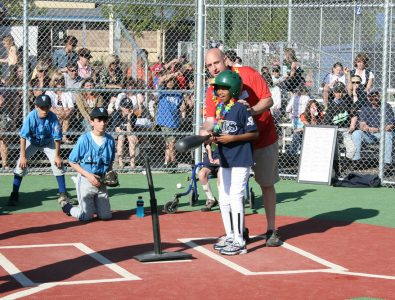 Batter Up! Miracle League baseball field