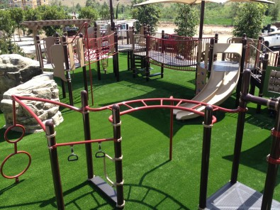 PlayBound TurfTop at park play area.