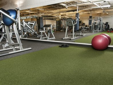 SportTurf Cushion in GoodLife Fitness.