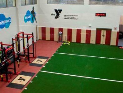 SportTurf Cushion at a Family YMCA.