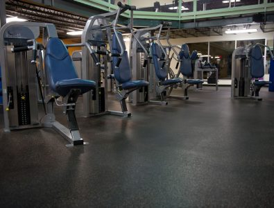 Everlast Roll fitness center flooring.