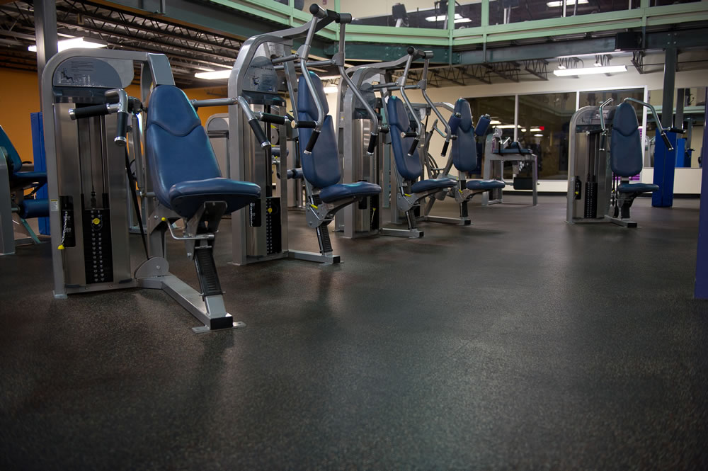 Everlast Roll Rubber Fitness Flooring Surface America