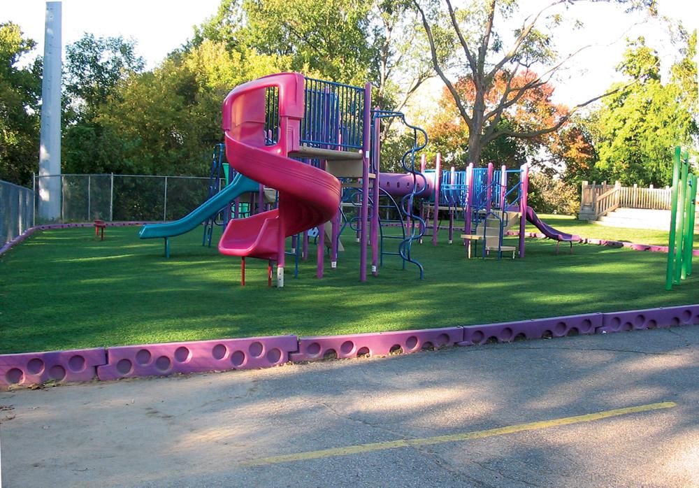 Playbound Turftop Rubber Playground Surfacing Surface