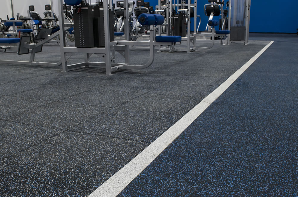 Ultratile Rubber Fitness Flooring Tiles Surface America