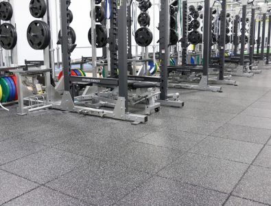 UltraTile fitness flooring.