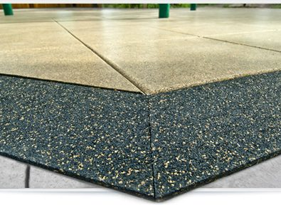 UltraTile with perimeter reducer.
