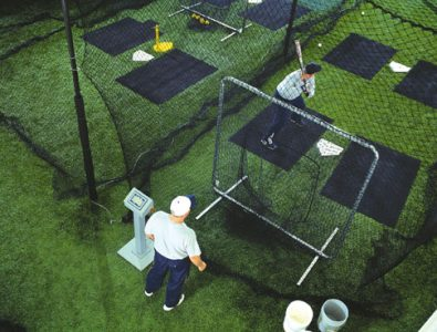 SportTurf Cushion at baseball practice facility.