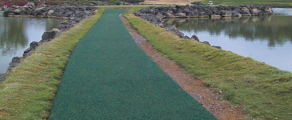 EverTop for golf course cart path.