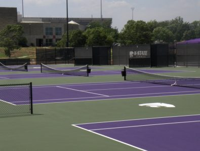 Laykold Masters 5 cushioned tennis courts.