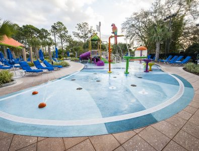 AquaFlex waterplay surfacing at Renaissance Resort in Orlando, FL.