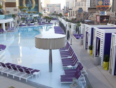 AquaFlex pool surround surfacing at the Cosmopolitan of Las Vegas®.