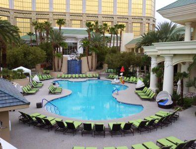 AquaFlex pool decking at the Four Seasons Hotel in Las Vegas, NV.