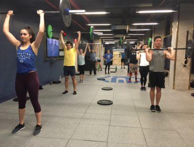 Everlast SmashTile at lifting class.