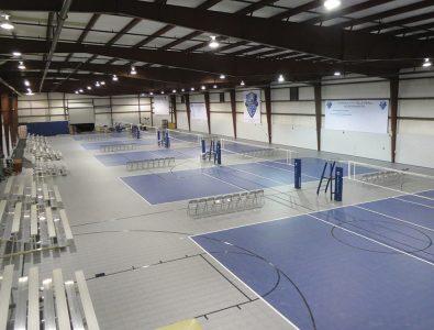 Mateflex Interlocking Tile Gym Floor.
